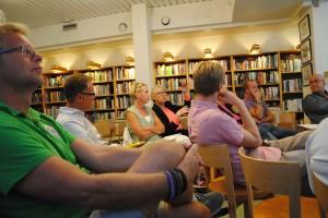 Bostadspolitiskt samtal i Vaxholm.