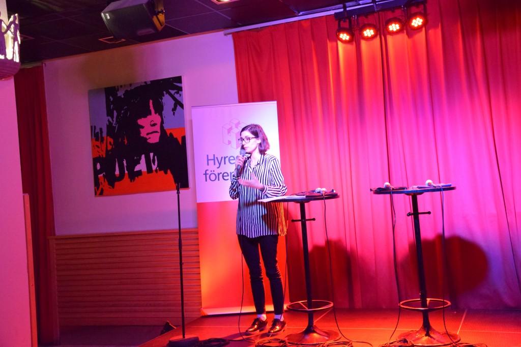 Victoria Percovich Gutierrez berättar om Malmö stads arbete